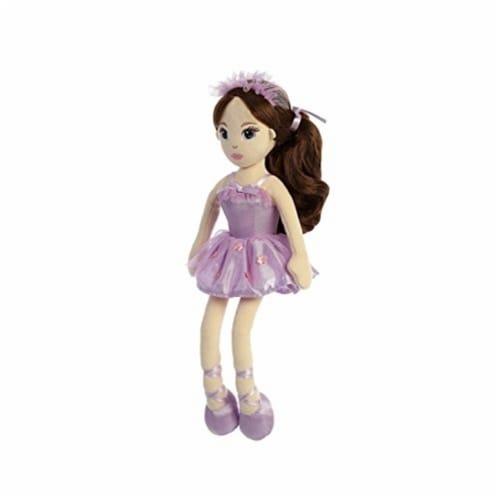 Aurora World Ballerina Doll Ava Plush Perspective: front