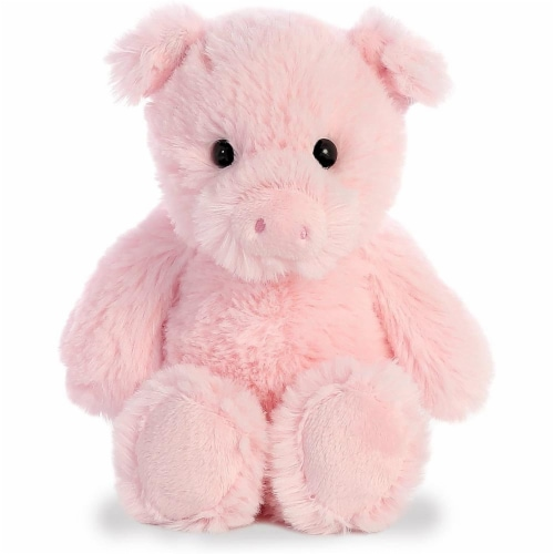 Aurora Pig Plush, Pink Perspective: front