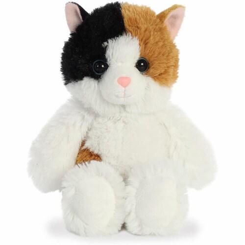 Aurora Esmeralda Cat Plush, White Perspective: front
