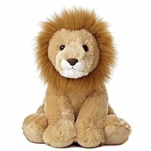 "Aurora World 14"" Plush Lion Perspective: front"