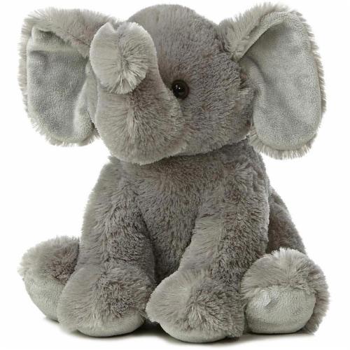 "Aurora World 14"" Plush Elephant Perspective: front"