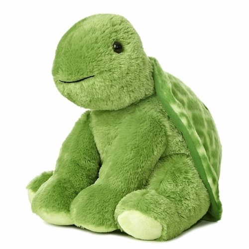 "Aurora 14"" Plush Turtle Perspective: front"
