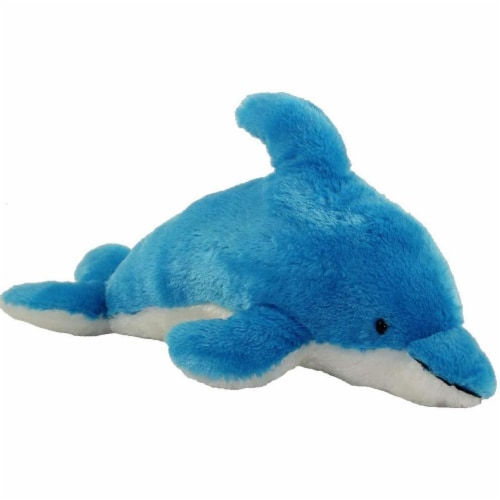 """Aurora 14"""" Plush Dolphin Perspective: front"""