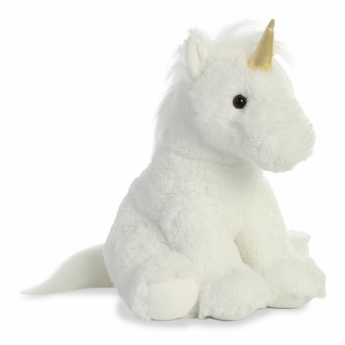 "Aurora 14"" Plush Unicorn Perspective: front"