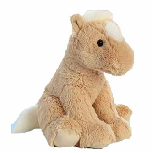 "Aurora 14"" Plush Palomino Horse Perspective: front"