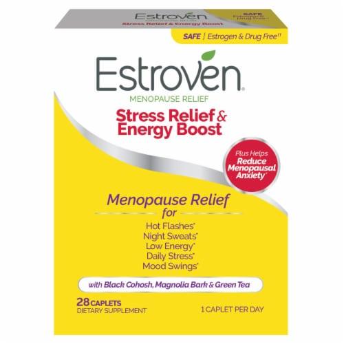 Estroven Menopause Relief Maximum Strength Caplets Perspective: front