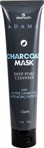 Adama Dp Pr Charcoal Face Mask Perspective: front