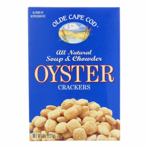 Olde Cape Cod - Oyster Crackers - Trans Fat - 8 oz. Perspective: front