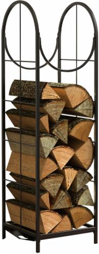 Open Hearth Vertical Log Bin Rack Perspective: front