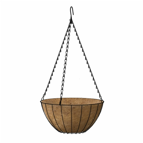 Panacea Growers Hanging Basket - Black Perspective: front