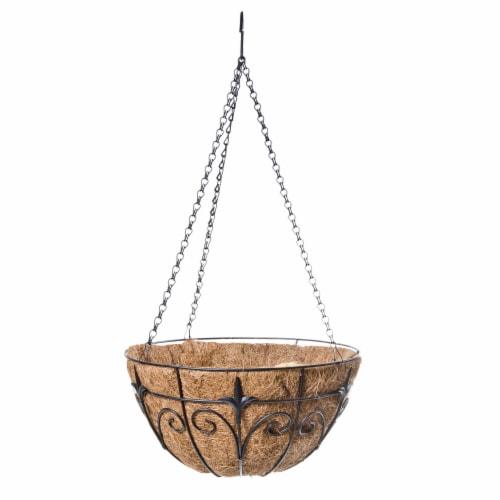 Hanging Planter Basket Perspective: front
