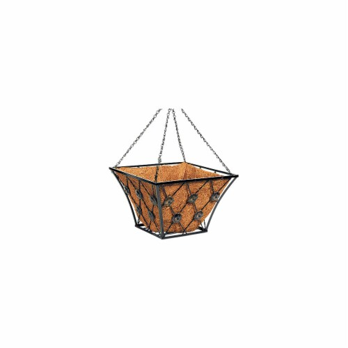 Panacea Regency Style Hanging Basket - Square Perspective: front