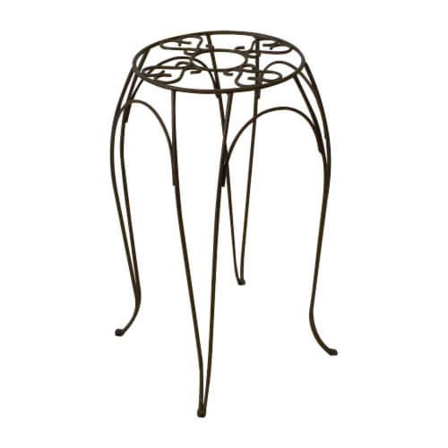 Cameo Wire Plant Stand - Brown Perspective: front
