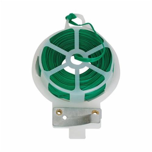 Panacea Green Plastic Plant Support Twist Tie - Case Of: 1; Perspective: front