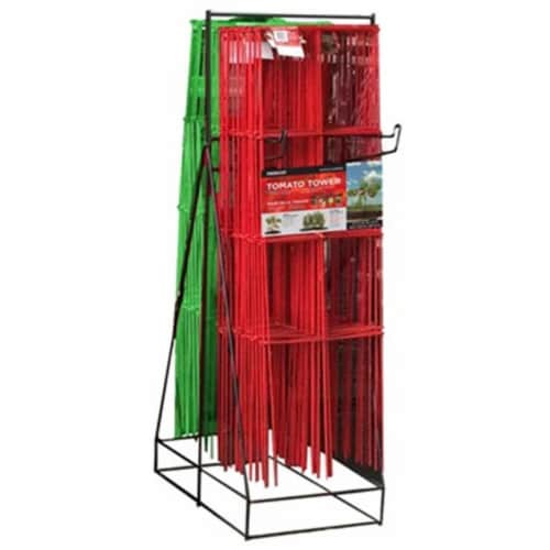 Panacea Products 259765 4-Panel Tomato Tower Display Perspective: front