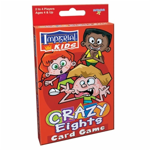 Imperial Kids Crazy Eights Card Game Perspective: front