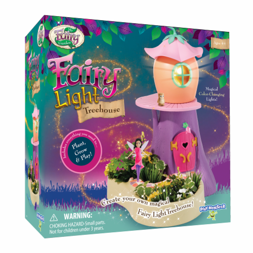 My Fairy Garden Fairy Light Treehouse Playset Perspective: front