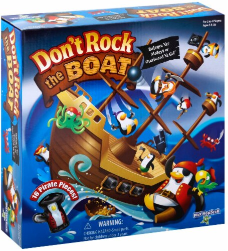 PlayMonster Don't Rock the Boat® Game Perspective: front