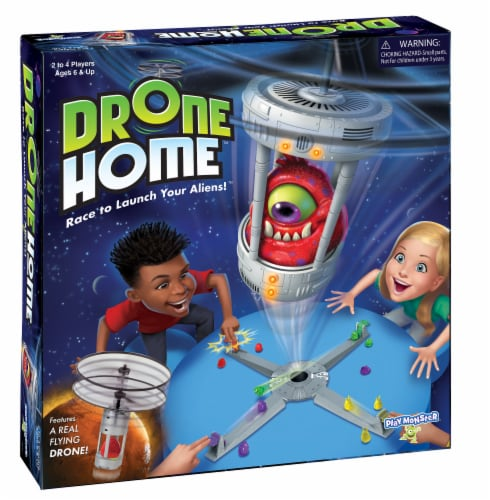 PlayMonster Drone Home Game Perspective: front