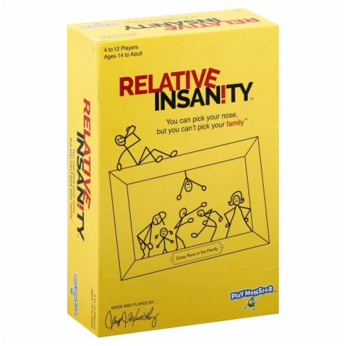 PlayMonster Relative Insanity Card Game Perspective: front