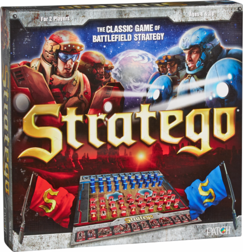 Patch The Original Stratego Game Perspective: front