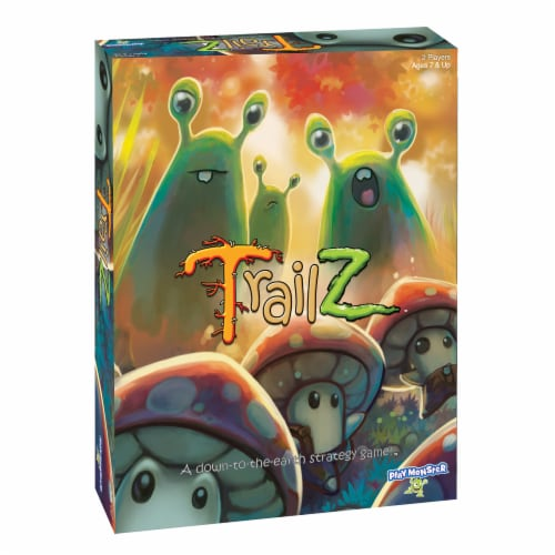 PlayMonster Trailz Board Game Perspective: front