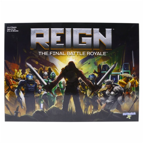 PlayMonster Reign The Final Battle Royale Board Game Perspective: front