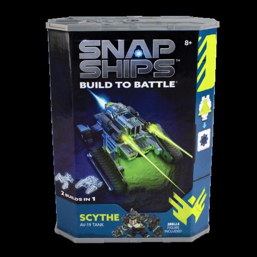 Snap Ships Scythe Av-19 Tank Building Toy Perspective: front