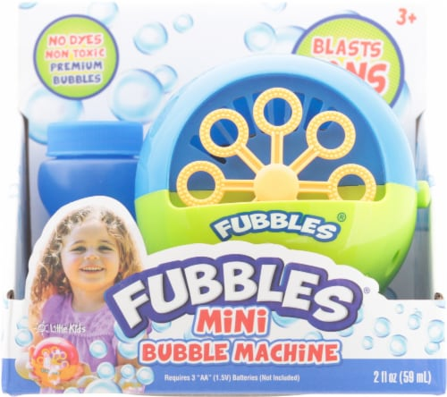 Little Kids Fubbles Mini Bubble Machine - Assorted Perspective: front
