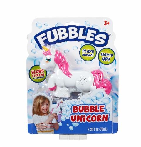 Fubbles Bubble Unicorn Perspective: front
