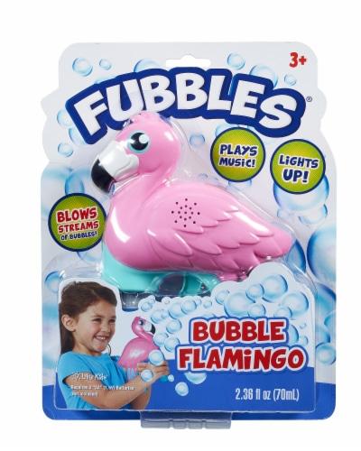Fubbles Bubble Flamingo Perspective: front