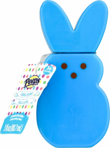 Peeps 3 oz Scented BUBBLE BUNNY Basket Filler Easter Marshmallow Container New