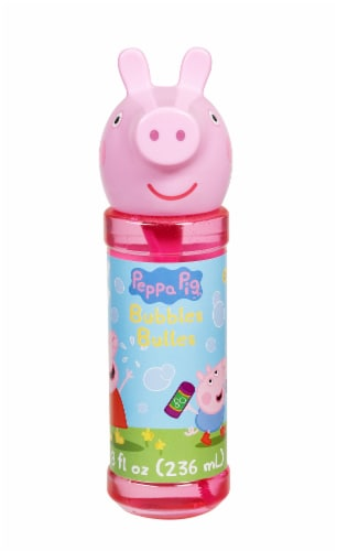 Peppa Pig Bubble Bottle Perspective: front