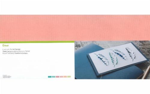 Cricut Cardstock Sampler 12X24  Sorbet Assorted Perspective: front