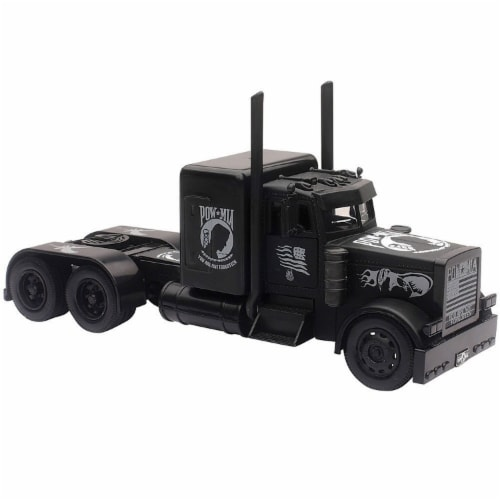 1/32 Peterbilt Black Out Truck Perspective: front