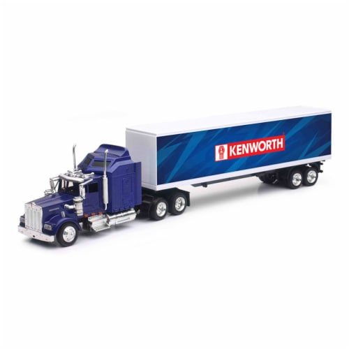 1/43 Kenworth W900 Patriotic Graphic Truck Perspective: front