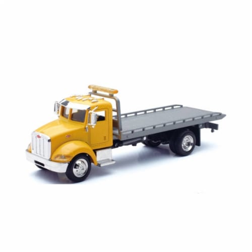 1:43 Scale Die-Cast Utility Truck, Flatbed Perspective: front