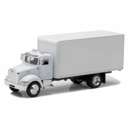 1/43 Peterbilt 335 White Box Truck Perspective: front