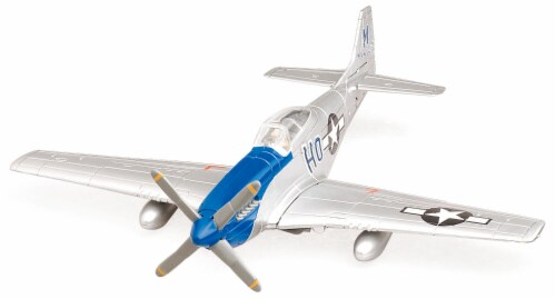Sky Pilot Classic Plane Model Kit (1:48 Scale), P-51D Mustang Perspective: front