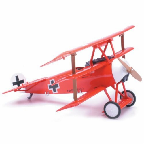 Snap Together Model Fokker DR.1 Perspective: front