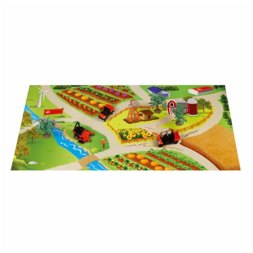 Kubota Landscape Play Set with Play Mat Perspective: front