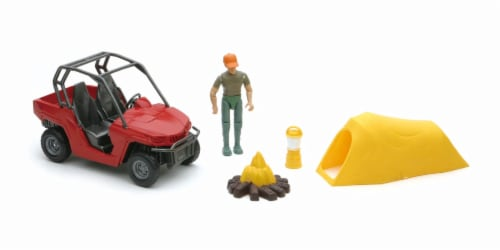Xtreme Camping and ORV Adventure Playset Perspective: front