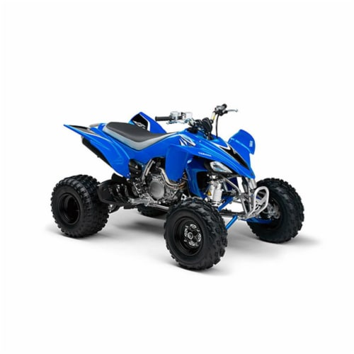 1:12 Scale Die-Cast Yamaha YFZ 450 ATV, Blue Perspective: front
