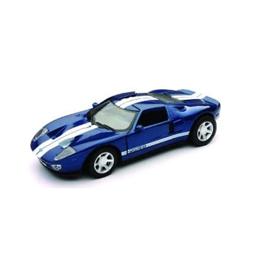 1/32 Die-Cast Car With Pullback Action, Ford GT Perspective: front