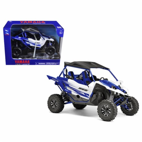 1:18 Scale Die-Cast Yamaha YXZ1000R, Blue Perspective: front