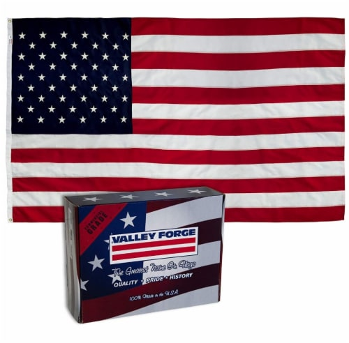 Valley Forge Nylon Presidential Series United States Flag Perspective: front