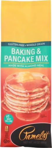 Pamela's Baking & Pancake Mix Perspective: front