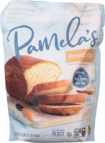 Pamela's Bread Mix & Flour Blend Perspective: front