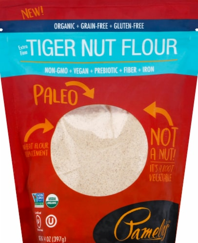 Pamela's Organic Tiger Nut Flour Perspective: front