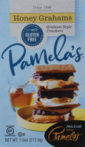 Pamela's Gluten-Free Honey Grahams Perspective: front
